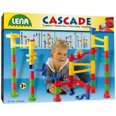 Lena Cascade Kugelbahn  Kinder Kinderspielzeug Spielzeug Spielen Groß b
