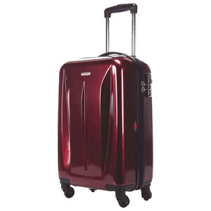 "*SAMSONITE* TECH SERIES 20"" SPINNER LUGGAGE (CARRY-ON) - RED"