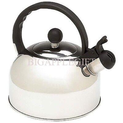 NEW Stainless Steel Whistling TEA KETTLES TEA ...
