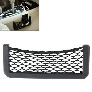 support autocollant filet tableau de bord voiture porte pour t l phone ebay. Black Bedroom Furniture Sets. Home Design Ideas