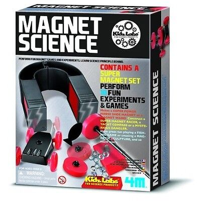 MAGNET SCIENCE KIT Magnetic toy Homeschool Experiments Fair Project - Magnet Science