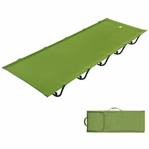 Folding Camping Cot Portable Compact Tent Bed for Camping,Fishing,Outdoor