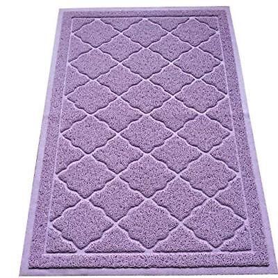Easyology Premium Cat Litter Mat, XL Super Size, Lavender
