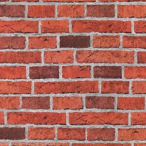 Brick Effect Wallpaper Textured Vinyl EBay
