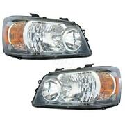 2004 Toyota Highlander Headlight