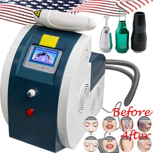 USA Q-Switch ND YAG Laser Tattoo Removal Machine Eyebrow Pigment Removal Machine