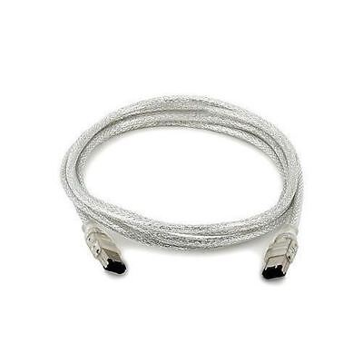 FIREWIRE to FIREWIRE CABLE 6-6 PIN CABLE LEAD