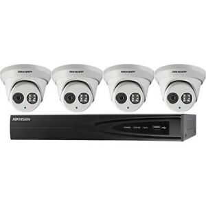 Hikvision IP 4MP cameras DS-2CD2343G0-I 2.8 sales &installation