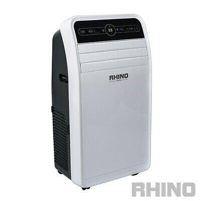 RHINO AC9000 PORTABLE3 IN 1 AIR CONDITIONER /DEHUMIDIFIER/ FAN 9000 BTU/H 2.6KW