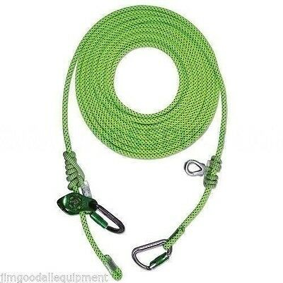 Tree Climber Flipline-lanyardcemoveable Prusikpulley Slack Tender5m16 Ft