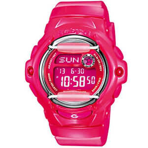 Casio Ladies' Baby-G Alarm Watch BG-169R-4BER RRP £65