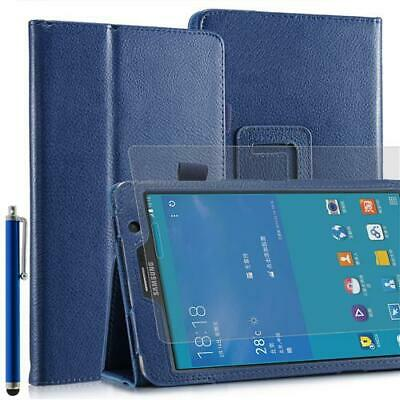 Plegable Funda Tablet para Samsung Galaxy Note pro T520 Azul 10,1