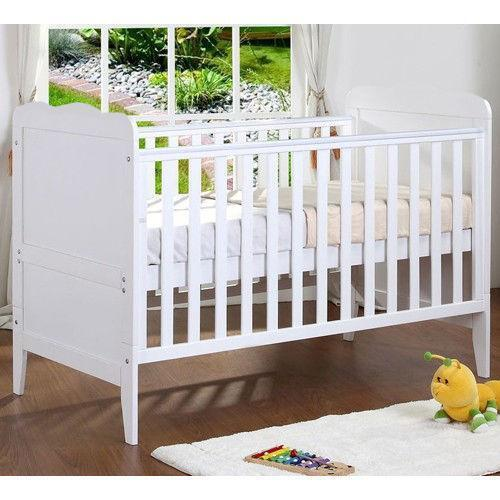 Breathable Crib Mattress >> Wooden Baby Cot | eBay