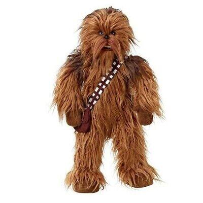 STAR WARS 24-Inch Mega Poseable Chewbacca Talking Plush teddy kids