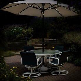 60 led solar parasol chain light brand new kilmarnock area - Garden Furniture Glasgow
