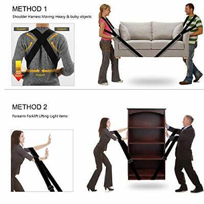 Furniture Moving Straps Easy Carry Appliances Shoulder Belts Carrying Straps