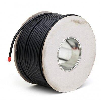 50m Black RG6 Satellite Freesat Digital TV Aerial Coax Cable Coaxial Lead wire