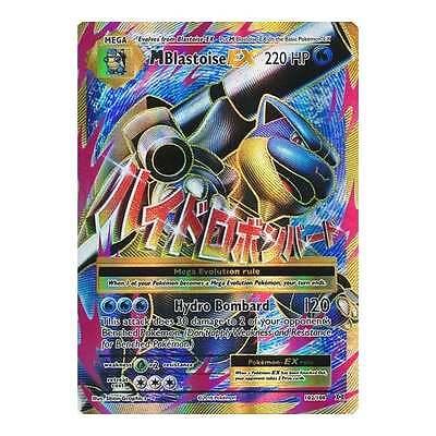 Pokemon XY Evolutions Mega-Blastoise-EX 102/108  Full Art Ultra Rare Card