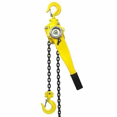 34 Ton Ratcheting Lever Block Chain Hoist 10 Ft Lift Come Along Puller