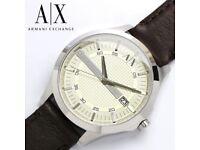 Brand New Sealed Armani Exchange AX2100 Men's Watch With Argos Receipt & Warranty