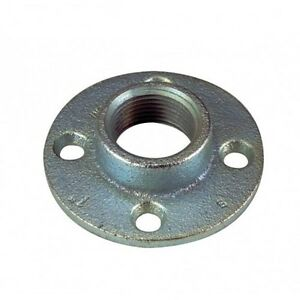 orbit fr 150 malleable iron rigid floor flange 1 5 inch