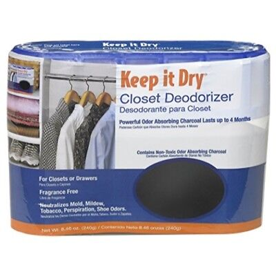 Willert AirBoss Keep It Dry Activated Charcoal Closet Deodorizer - 8.46 oz