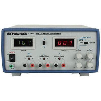 Bk Precision 1652 Triple Output Digital Display Dc Power Supply