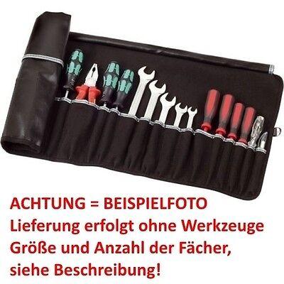 PARAT! Rolltaschen Wickeltaschen Werkzeug Wickel Rollmappe 5 8 12 15 20 Fächer