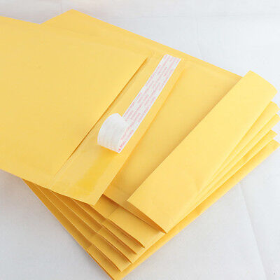 Lot Of 25 New 2 8.5x12 Inch 8.5x12 Kraft Bubble Mailers Padded Envelopes Bags