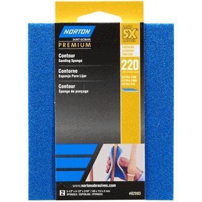 Contour Sanding Pads - Norton 07660782083 5X Contour Sanding Pads Extra Fine, 220 Grit