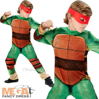 Teenage Mutant Ninja Turtle Classic Boys Fancy Dresss Superhero Kids Costume New - Kids Teenage Mutant Ninja Turtle Costume