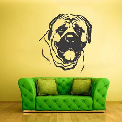 Wall Vinyl Sticker Bedroom Dog Animal (Z1237)