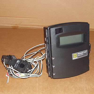 New Square D Eme3010 Power Logic Energy Meter Extended 100a Size 0 3cts