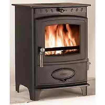 (Aarrow Ecoburn 5 Fire brick Lining Replacement  REAR BRICK  woodburner stove )