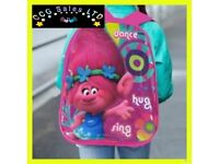 Official Dreamworks Trolls Character Ex-Large School Backpack