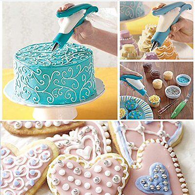 Cake Decorating Pen Tool Kit Pastry Bag Diy Deco Tools Icing Piping Bags Bakery