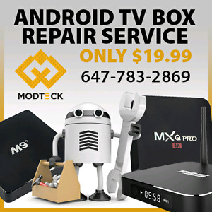 Android tv box repair-upgrades.My Gica Apple Tv and all android