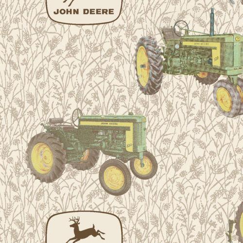 John Deere Fleece Fabric Ebay