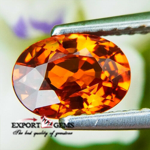 UNHEATED 1.37CT ORANGE SPESSATITE GARNET