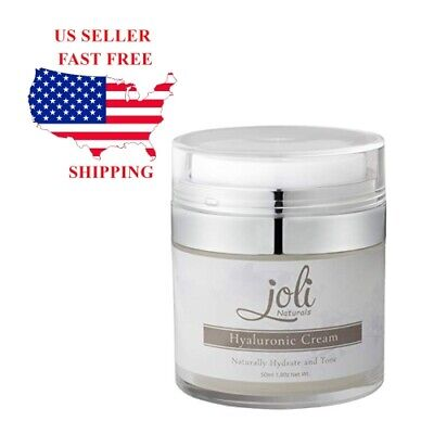 Hydrating Anti Aging Face Skin Cream Moisturizering Lotion by Joli Naturals *NEW