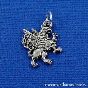 Silver GRIFFIN CHARM Mythical Creature Griffon Gryphon PENDANT *NEW*
