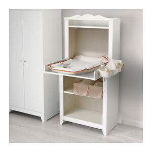 Ikea HENSVIK Book case/ removeable changetable White