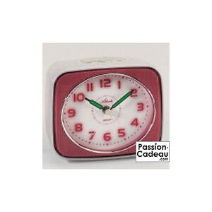 Reveil-vintage-a-quartz-et-a-mouvement-silencieux-Atlanta-blanc-et-rouge-1757-1