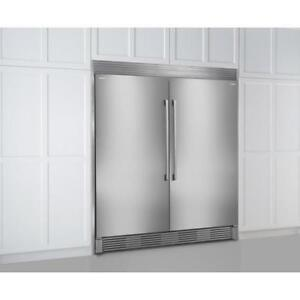 Electrolux TRIMKITSS2 79'' Louvered or 75'' Collar Dual Stainless Steel Trim Kit (New other)