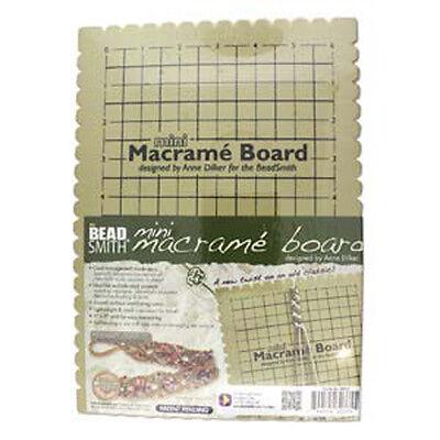 BEADSMITH MACRAME BOARD MINI - 7.5 X 10.5 INCHES (MWB10)