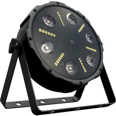 Eliminator Trio Par LED RG 3 in 1 effect, Laser, Strobe and Wash DJ Light