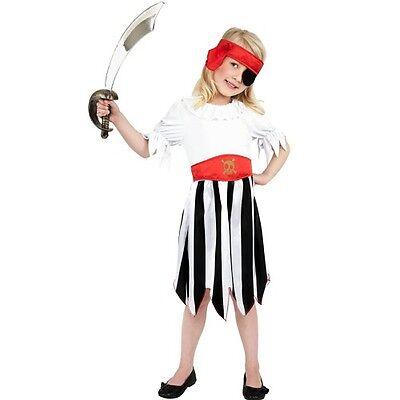 Neues Outfit Für Kinder (Kinder Kostüm Piratenkostüm für Mädchen #38776 Kinder Outfit NEU von Smiffys)