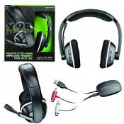Xbox 360 Wireless Headset Black