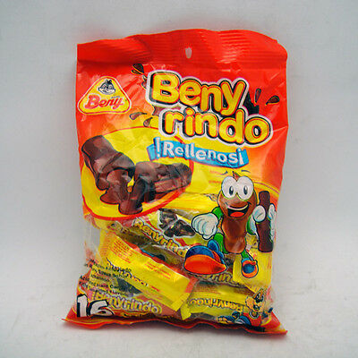 (3x Beny Rindo Rellenos Acidulated hard candy filled tamrind Mexican Candy 4.5oz )