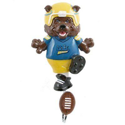 UCLA Bruins NCAA Wall Coat Hook Children Mascot Cloths Football Decorative